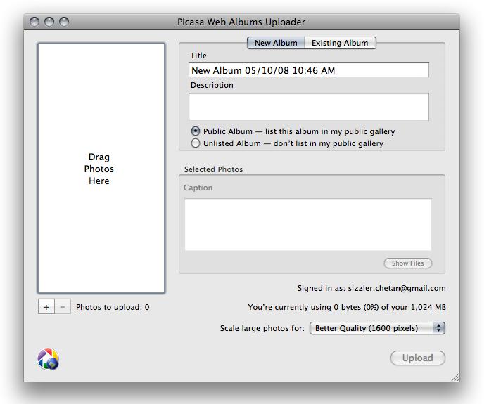 picasa download mac